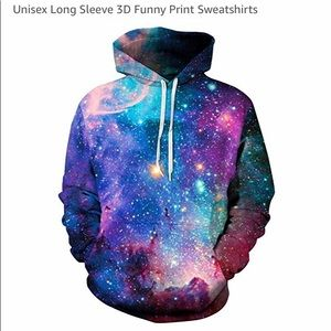 Galaxy unisex hoodie